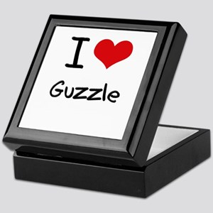 I Love Guzzle Keepsake Box