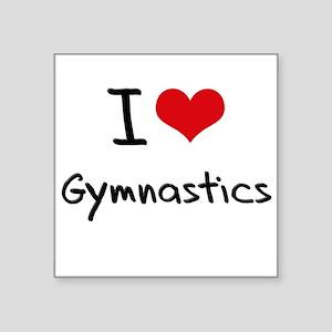 I Love Gymnastics Sticker