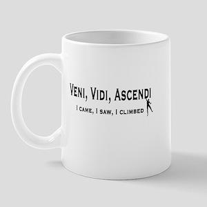 Veni, Vidi, Ascendi Mug