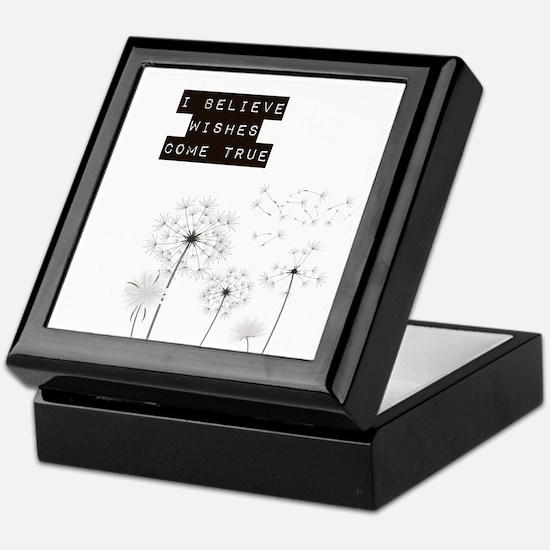 Believe in Wishes Dandelions Keepsake Box