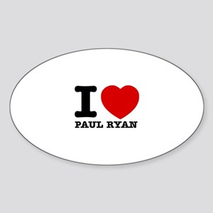 Political Designs Sticker (Oval)