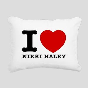 Political Designs Rectangular Canvas Pillow