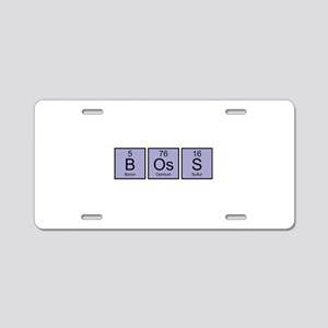 Boss Elements Aluminum License Plate
