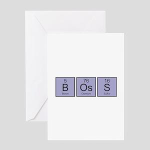 Boss Elements Greeting Card