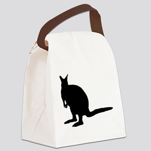 Wallaby. Canvas Lunch Bag