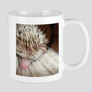 .prickly hedgie in a sleeve. Mug