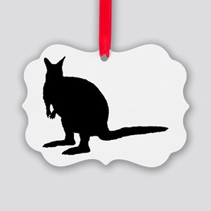 Wallaby. Ornament