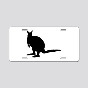 Wallaby. Aluminum License Plate