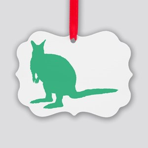 Green Wallaby. Ornament