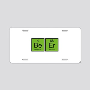 Beer Aluminum License Plate