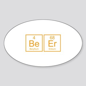 Beer Sticker (Oval)