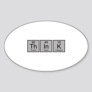 Think Sticker (Oval)