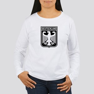 Deutschland Eagle Women's Long Sleeve T-Shirt