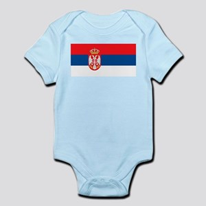 Serbia Flag Body Suit