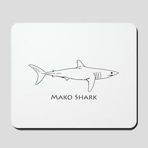 Mako Shark Logo Mousepad