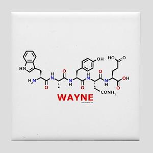 Wayne molecularshirts.com Tile Coaster