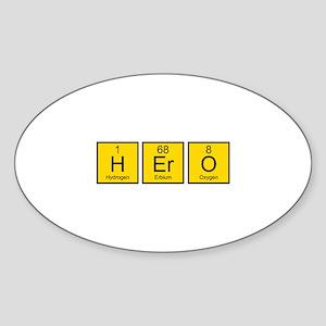 Hero Sticker (Oval)