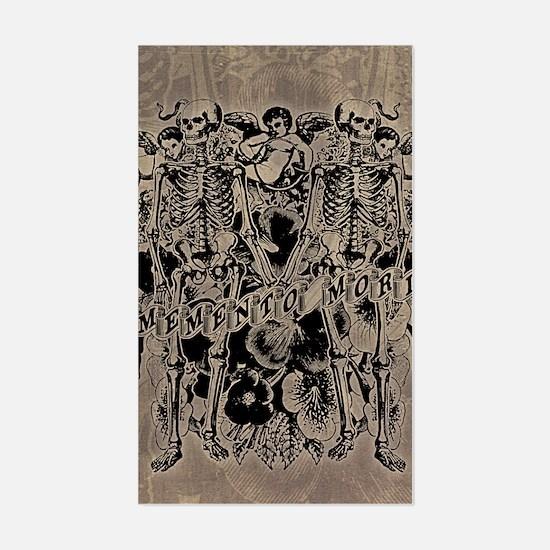 Memento Mori Collage Sticker (Rectangle)