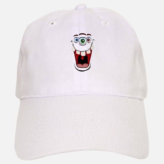 3 Eyed Monster Baseball Baseball Cap