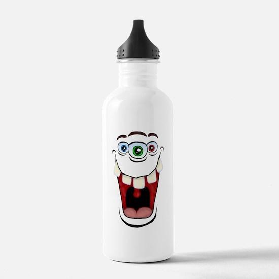 3 Eyed Monster Sports Water Bottle