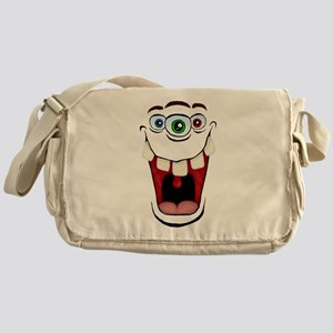 3 Eyed Monster Messenger Bag