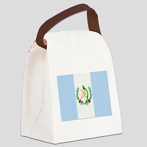 Guatemala Flag Canvas Lunch Bag