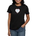 Touch Your Heart v4 Women's Dark T-Shirt