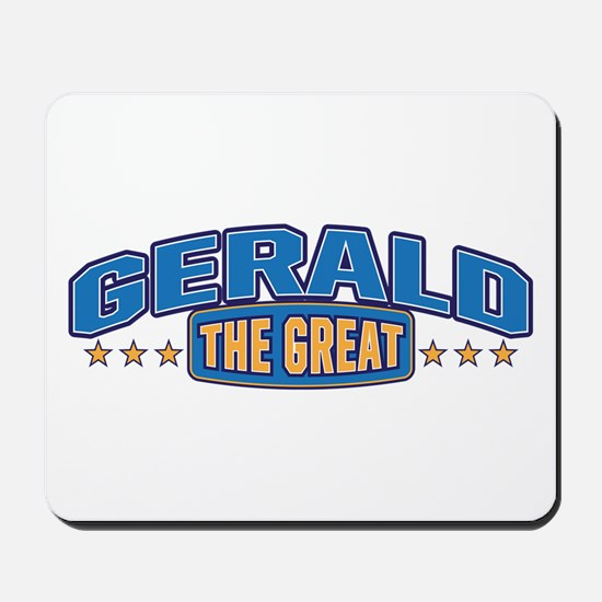 The Great Gerald Mousepad