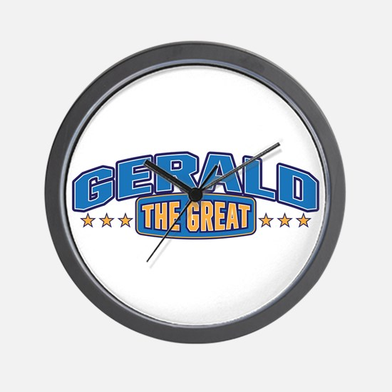 The Great Gerald Wall Clock