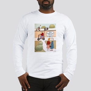 Dad wants to be a bad ass Long Sleeve T-Shirt