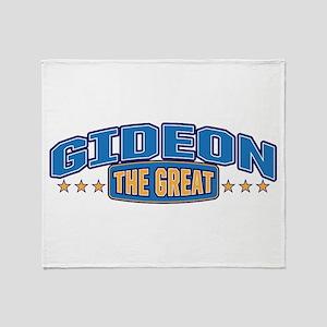 The Great Gideon Throw Blanket