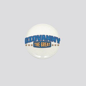 The Great Giovanny Mini Button