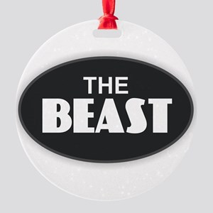 The BEAST Round Ornament