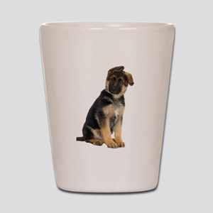 German Shepherd! Shot Glass