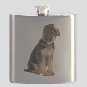 German Shepherd! Flask