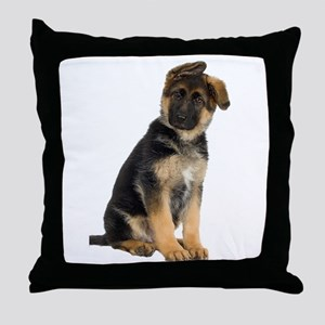 German Shepherd! Throw Pillow