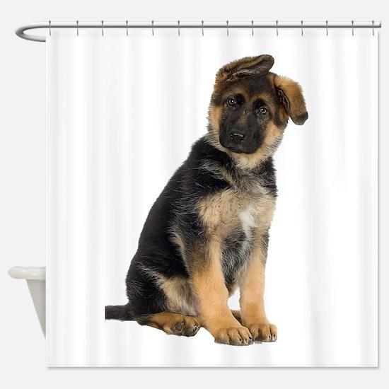 German Shepherd! Shower Curtain