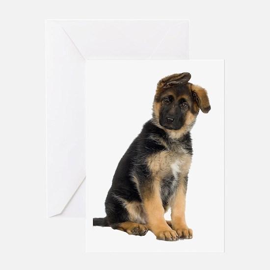 German Shepherd! Greeting Card