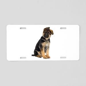 German Shepherd! Aluminum License Plate