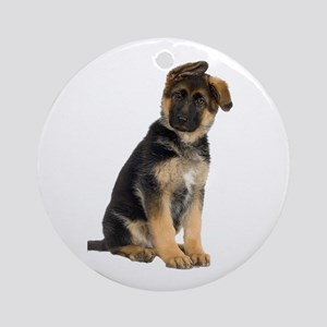 German Shepherd! Ornament (Round)