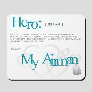 new hero design usaf Mousepad