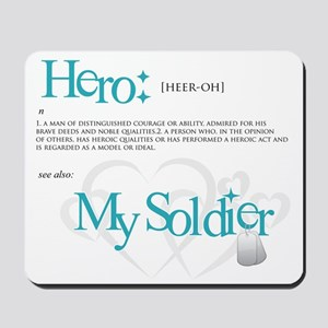 new hero design armybk Mousepad