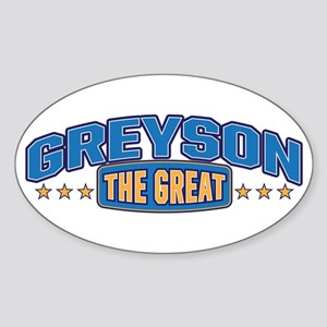 The Great Greyson Sticker