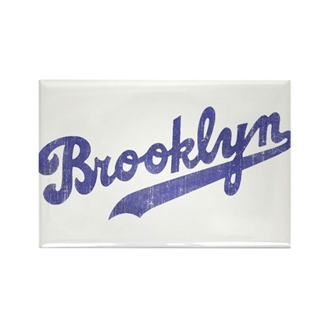 Throwback Brooklyn Rectangle Magnet (10 pack)