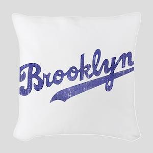 Throwback Brooklyn Woven Throw Pillow