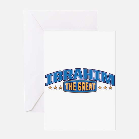 The Great Ibrahim Greeting Card
