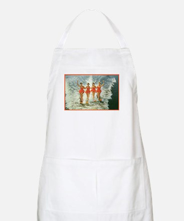 4 waterskiers Apron