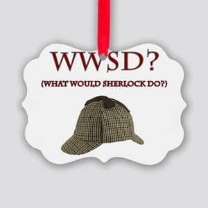 What Would Sherlock Do? Ornament