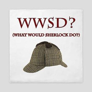 What Would Sherlock Do? Queen Duvet
