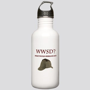 What Would Sherlock Do? Water Bottle